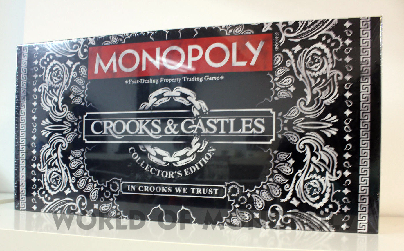 Crooks And Castles Monopoly